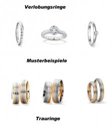 Verlobungsringe - Eheringe - Hochzeitsringe - Partnerringe